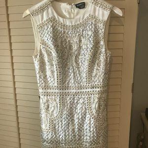 Bebe white dress